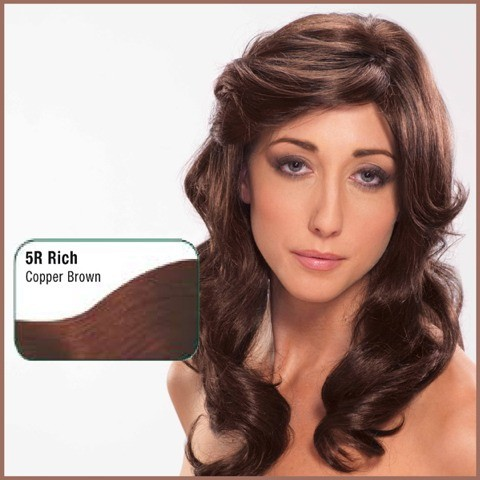 Coloration 05R Chu00e2tain cuivru00e9 Tints of nature | couleur Cheveux Bio