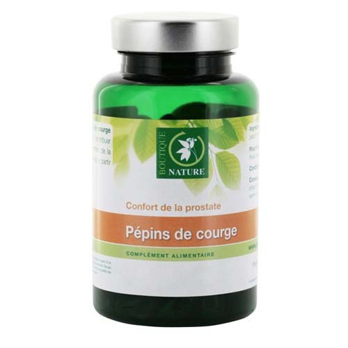 Huile Pépin Courge - 90 capsules marines