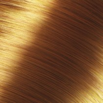 Coloration semi permanente blond doré
