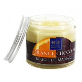 Bougie de Massage Orange Chocolat