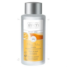 Huile de bain Orange-Argousier  Lavera Body Spa