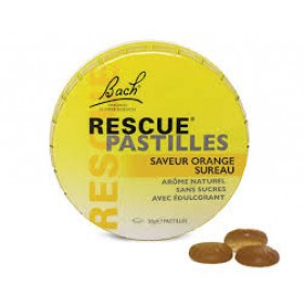 Rescue de Bach Pastilles Orange sureau (anciennnement concentré de zen)