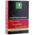 Ginseng guarana gingembre